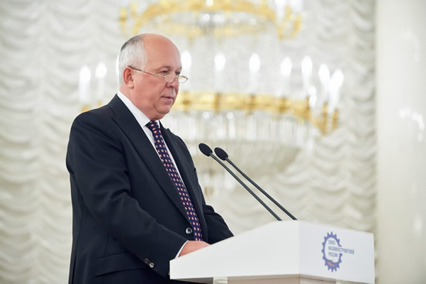Выступление Генерального директора Госкорпорации Ростех Сергея Чемезова