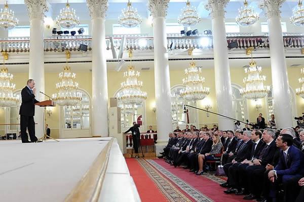 Выступление Президента Российской Федерации Владимира Путина на съезде Союза машиностроителей России
