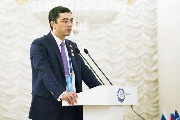 Выступление Первого вице-президента Союза машиностроителей России Владимира Гутенева